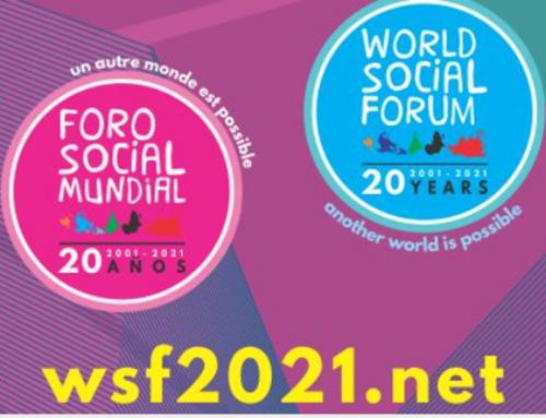 FORUM SOCIAL MONDIAL 2021 : édition virtuelle