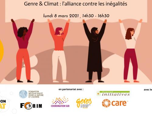Genre & climat : l'alliance contre les inégalités