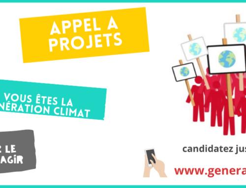 Génération Climat : jusqu'au 02 mai 2021 pour candidater au nouvel appel à projets